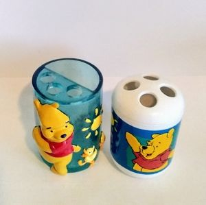 Winnie the Pooh Toothbrush/Toothpaste Holder
